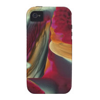 Coral Abstract Fractal iPhone 4 Cover