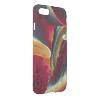 Coral Abstract iPhone 7 Case