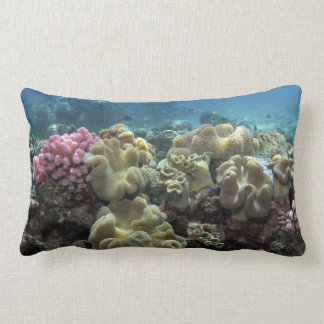 Coral, Agincourt Reef, Great Barrier Reef, Throw Pillow