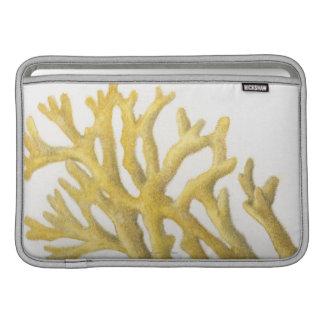 Coral amarillo fundas MacBook