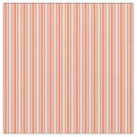 [ Thumbnail: Coral and Lavender Colored Pattern Fabric ]