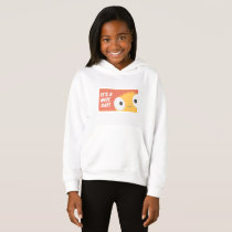 Coral and Orange Patterned Cute Sweatshirt
