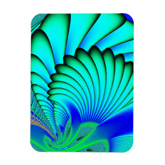 Coral and Sea Fans Fractal Magnet