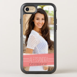 Coral Banner Photo OtterBox Symmetry iPhone 8/7 Case