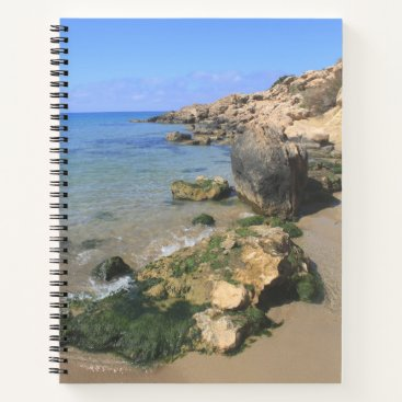 Beach Themed Coral Bay Notebook