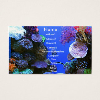 Coral Business Card
