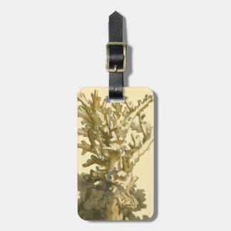 Coral by the Sea Bag Tag