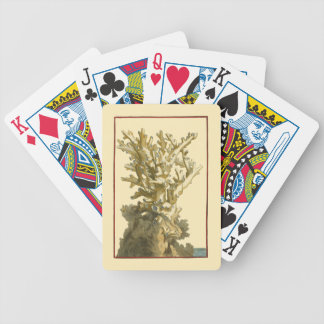 Coral by the Sea Bicycle Playing Cards