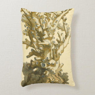 Coral by the Sea Decorative Pillow