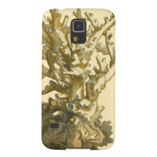 Coral by the Sea Galaxy S5 Cover