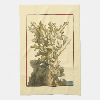 Coral by the Sea Hand Towel