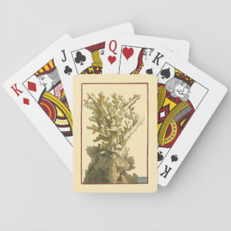 Coral by the Sea Playing Cards