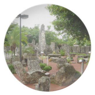 Coral Castle Dinner Plate