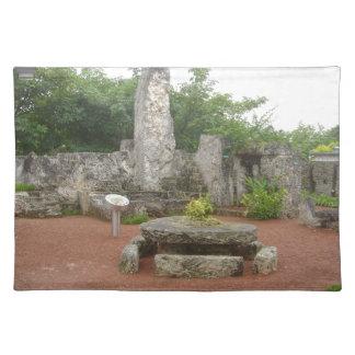 Coral Castle Place Mats