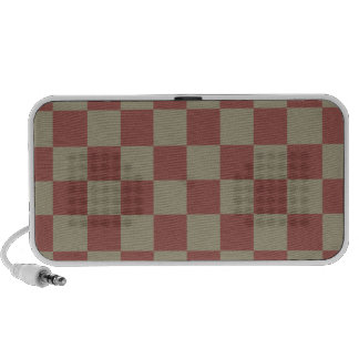 Coral Checker Pattern - Doodle Speaker !