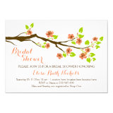 Coral cherry blossoms spring wedding bridal shower 5