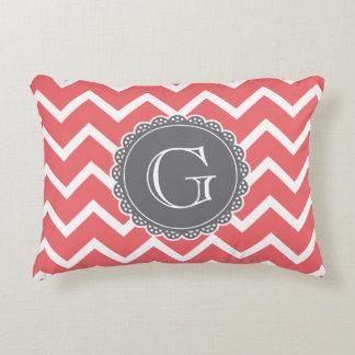 Grey Chevron Throw Pillow : Grey Chevron Pillows - Decorative & Throw Pillows Zazzle