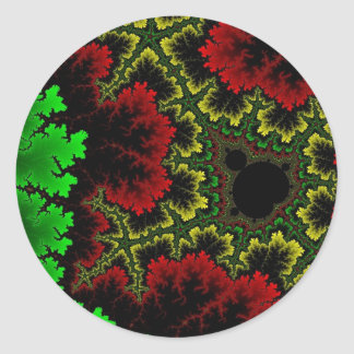 Coral Collage Sticker