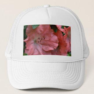 Coral Colored Kyushu Azaleas Trucker Hat