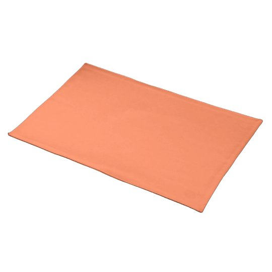 Coral-Colored Placemat