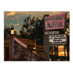 Coral Court Motel Route 66 American Retro Postcard