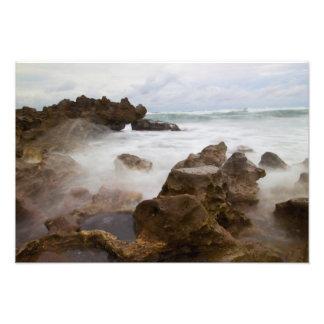 Coral Cove Park beach, Florida Photo Print