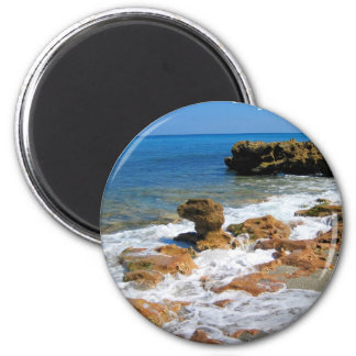 Coral Cove Park 2 Inch Round Magnet