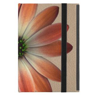 Coral Daisy on Shell background iPad Mini Case
