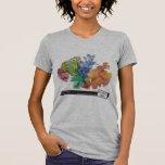 Coral de Elkhorn de Carrie Schneider T-shirt