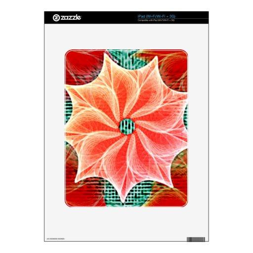 Coral de la corona calcomanía para iPad