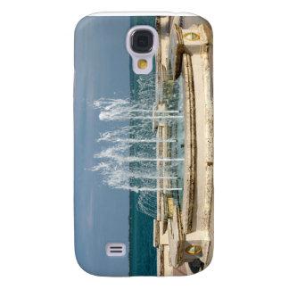 Coral del agua del cielo del río de Foutain Carcasa Para Galaxy S4
