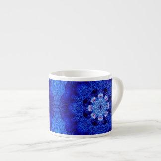 Coral del azul real taza espresso
