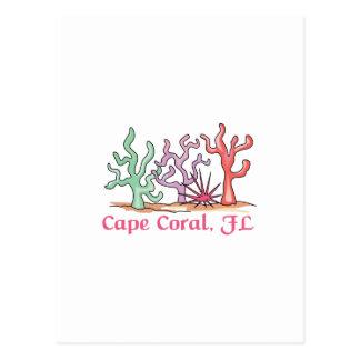 Coral del cabo postales