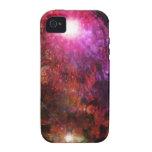 Coral del fractal iPhone 4/4S carcasas