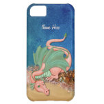 Coral Dragon Fantasy - Customize iPhone 5C Covers
