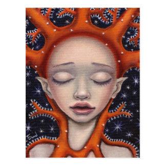 Coral dream postcard
