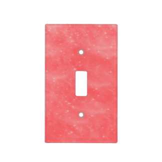Coral Dust Light Switch Cover