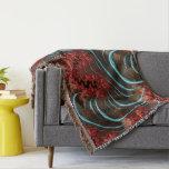 Coral Eruption Throw Rug Living Room Design