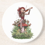 Coral Fairy ~ Sweet Melody Coasters