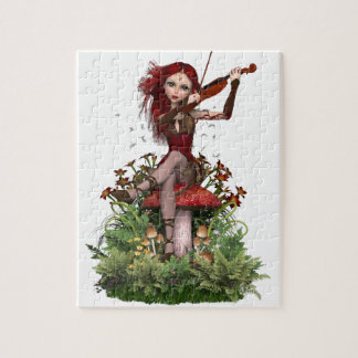 Coral Fairy ~ Sweet Melody Jigsaw Puzzle