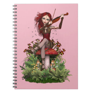 Coral Fairy ~ Sweet Melody Note Book