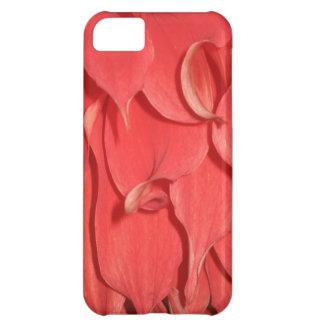 Coral Flower Petals iPhone 5C Case