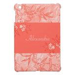 Coral Flowers in Bloom iPad Mini Case