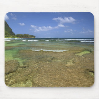 Coral formations on Tunnels Beach Mouse Pad