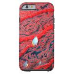 coral funda para iPhone 6 tough
