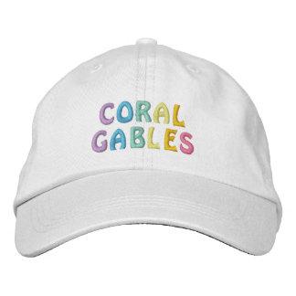 CORAL GABLES cap