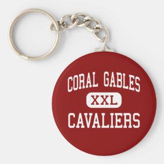 Coral Gables - Cavaliers - High - Coral Gables Key Chain