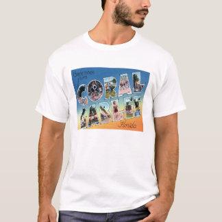 Coral Gables, FL Vintage Scenic Letters T-Shirt