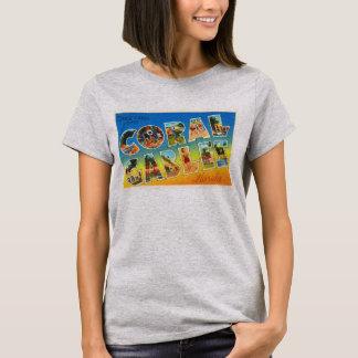 Coral Gables Florida FL Vintage Travel Souvenir T-Shirt