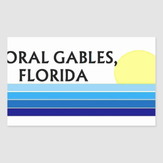 Coral Gables Stickers